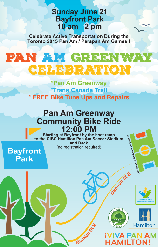 Pan Am Greenway Celebration Poster
